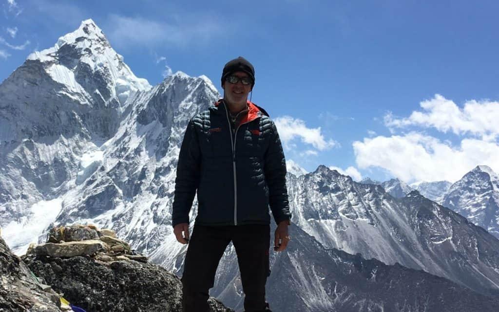 Don Mann on Mt. Everest